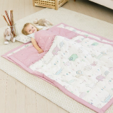 EMF Shielding Baby Bedding Pink color