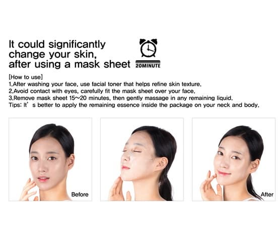 MILK THISTEL MASK USING