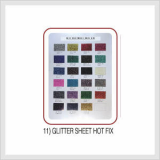 Glitter Sheet Hot Fix (Hs Code : 8308.90.9000)