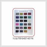Glitter Sheet Hot Fix (Hs Code : 8308.90.9000)