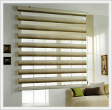 Allos Wood Combi Shade Blind