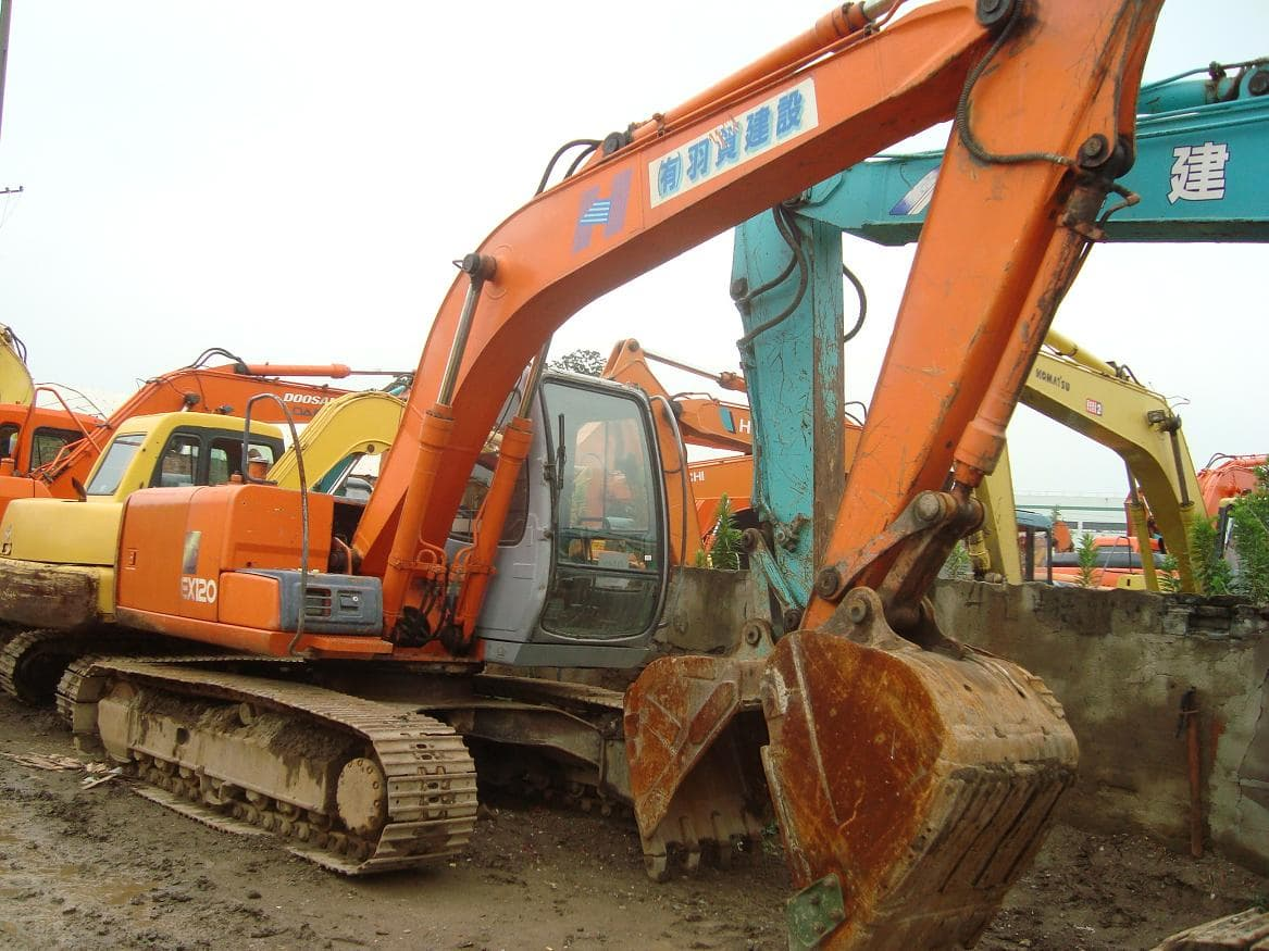 used hitachi excavator ex120-5 | tradekorea
