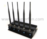 Adjustable 3G 4G LTE WIMAX Cell Phone Jammer