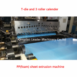 PP single layer foam stationary sheet extrusion machine
