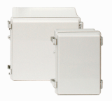 IP66-67 Plastic molded hinge type enclosure