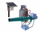 Solar_powered Propane Cannon