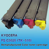 Kyocera TK-520 Compatible Color Toner Cartridge, Korea