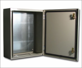 Water &  Dustproof metal enclosures for electrical equipments.