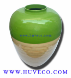 Colorful Handmade Decor Vase from Vietnam