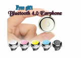 Bluetooth 4_0 Earphone