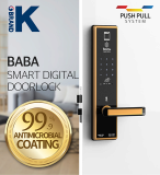 Smart fingerprint door lock BABA_8301