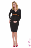 My Tummy - Maternity dress Carla charcoal