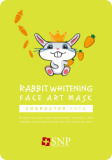 SNP Rabbit Whitening Face Art Mask