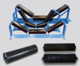 rubber coated conveyor rollers with professional Dia 194mm