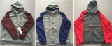 USA market stock on sale_Men_s fleece zipper hoody