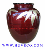 Nice Traditional Vietnam Bamboo Decor Vase