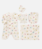 Newborn organic clothes set