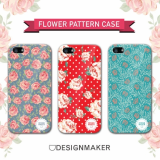 [iPhone / Galaxy Case] Flower Pattern Case