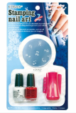 KONAD Stamping Nail Art Kit_Set D