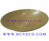 EcoFriendly Natural Handmde Bamboo Serving Dish