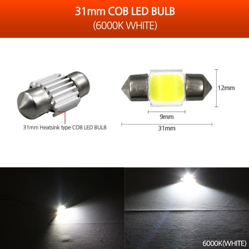MOONLIGHT COB LED FESTOON LAMP