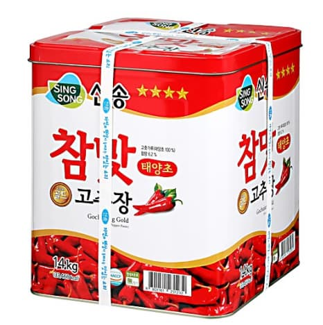 Singsong Gochujang red pepper paste 14kg