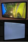 LED lightpanel with flip frame