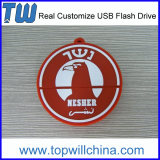 Unique Customize PVC Model Usb Pen Flashdrives Free Logo