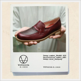 Female Shoe -V.W.M.S No.8001 BURGUNDY
