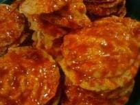 FRIED MELINJO CRACKERS WITH FLAVOR -HOT2
