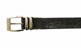 Luxury Crocodile Leather Belt for Men