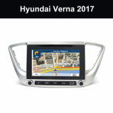 Car Hifi Entertainment_Device Head Unit Hyundai Verna 2017