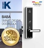 Smart hotel card door lock BABA_8311