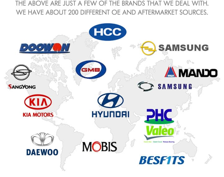 Korean Car Brands >> Auto Parts For Korean Car Tradekorea