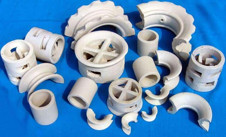 Ceramic Rasching Ring Pall Ring Intalox Saddle Super
