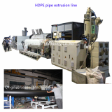 LSG90_33 HDPE insulation_ gas and water pipe production line