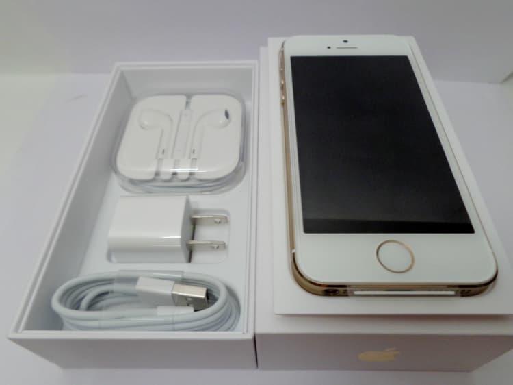 original Apple iphone 5s 64GB Gold - 237.4KB