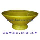 Highquality Ecofriendly Handmade Decor Bamboo Bowl