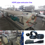 High Speed HDPE gas and water pipe extrusion machine