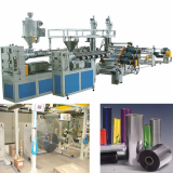 PET thermoforming and packaging sheet extrusion line