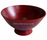 Beautiful Handmade Serving Bamboo Bowl