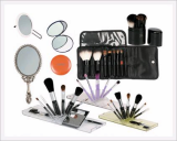 Cosmetic Mirror & Brushes