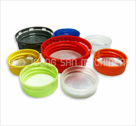 Plastic cap liner inserting machine