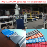 PVC_ASA_PMMA corrugated roofing sheet extrusion line