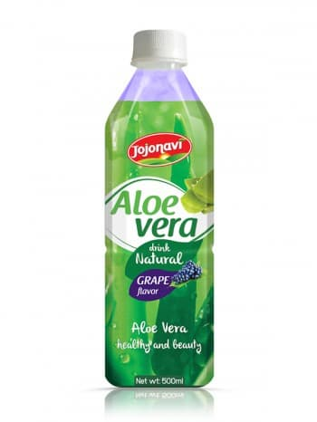 Aloe Vera Water With Grape Flavour