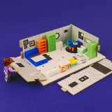 _Interior Assemble Kit for Children_ American Modern Style