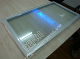 freezer glass door with LED light