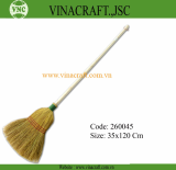 Rice straw broom or household broom with long handle