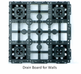 Drain Board for Walls