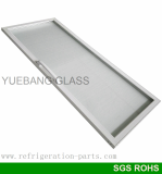 Plastic Frame Glass Door for Beverage Freezer
